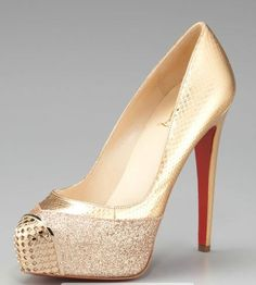 CHRISTIAN LOUBOUTIN. One to go please.