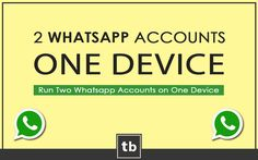 This guide explains different methods with step by step procedure to use multiple whatsapp accounts on a single device, rooted as well as non-rooted.