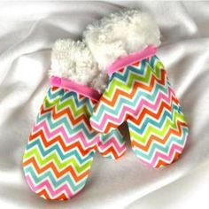 Stay Dry Mittens with PUL | Babyville Boutique™