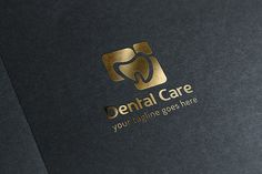 Dental Care Logo by GladicMonster on Creative Market