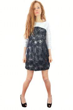 Vestito Collezione CrossChic #SS16 Designer Giovanna Nicolai #Black #Elegante #Chic #Nero
