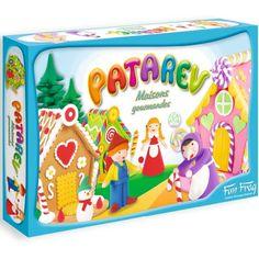 Cena: 102.00zł. Eksresowa wysyłka od ręki. DOMKI Z PIERNIKA DIY Z PLASTELINY PATAREV francuskiej firmy... więcej na www.Tublu.pl #tublu #tublu_pl #zabawka #zabawki #dla #dzieci #toy #for #kid  #sentopshere #art #patarev Lunch Box, Jaune Orange, Conte, Diy, Cloud Dough, Snowman, Casket, Toddler Girls, Candy Bars