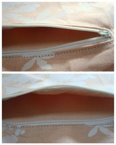 How to add a zippered pocket to a purse-Tutorial