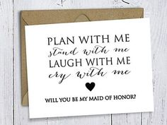 """After getting engaged, it's time to ask another big question: """"Will you be my maid of honor?"""" Shop the most creative maid of honor proposal ideas. Bridesmaid Poems, Ways To Ask Bridesmaids, Best Friend Bridesmaid, Wedding Favours Bridesmaids, Best Bridesmaid Gifts, Bridesmaid Proposal Box, Wedding Favors, Wedding Souvenir, Wedding Reception"""