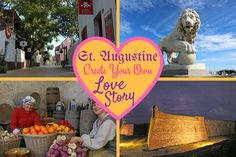 Valentine's Day is right around the corner and as love fills the air, escape to St. Augustine, FL for old world charm combining historical landmarks, beautiful beaches, eclectic dining and fresh seafood.