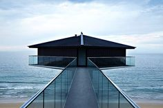 How dramatic is this seafront house