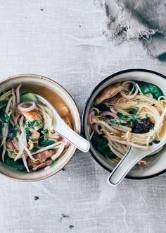 20 Min, Noodle Soup, New Recipes, Yum Yum, Noodles, Soups, Good Food, Fish, Meals