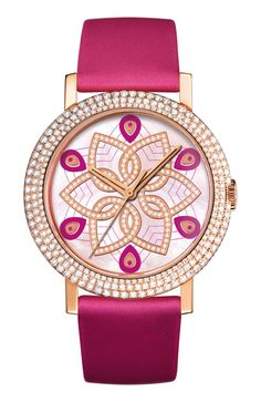 Fashion*Jewellery*Watches | Color Desire Magenta | RosamariaGFrangini || Jewelry News Network: Boucheron's Wild and Crazy Ladies Watches