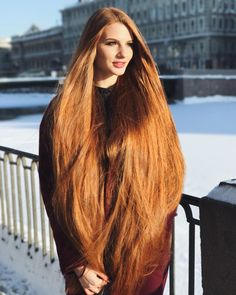 36 Perfect Hairstyles for Long Thin Hair (Trending for - Style My Hairs Long Thin Hair, Really Long Hair, Long Red Hair, Face Shape Hairstyles, Straight Hairstyles, Cool Hairstyles, Beautiful Long Hair, Beautiful Things, Her Hair