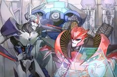 TFP Starscream, Breakdown, and Knockout