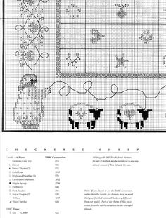 checkered sheep