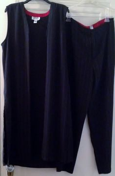 Chico's duster pant suit..view here...http://stores.ebay.com/2014ctayltreasures