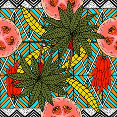 View Pattern African Plants and Fruits Geometric Design by mmartabc. Available in Seamless Repeat Royalty-Free. African Plants, Repeating Patterns, Free Design, Design Trends, Pattern Design, Print Patterns, Royalty, Abstract, Illustration