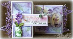 Romantic Orchid, CraftEmotions