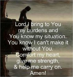 Daily Prayer-burdens