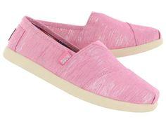 Skechers Girls BOBS WORLD BINDI pink sparkle canvas shoes