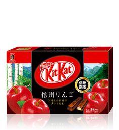 Each city has a signature flavor!   Shinshu Apple