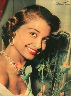 Egyptian Beauty, Egyptian Actress, Golden Age, Chokers, Actresses, Actors, Celebrities, Vintage, Fashion
