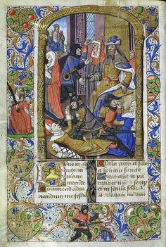 Livre d'heures de la famille de Pontbriand - Le massacre des Innocents | Flickr - Photo Sharing!