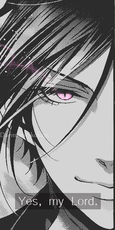 Kuroshitsuji. Black Butler anime and manga characters