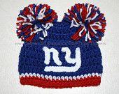 Ny Giants Crochet Afghan Pattern : Kendras Crocheted Creations: New York Giants afghan ...