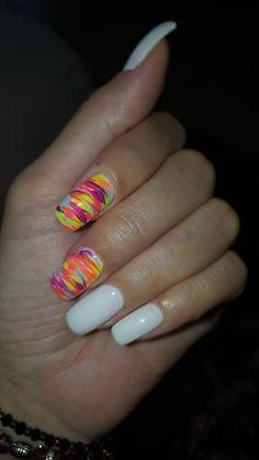 Summer colors nails