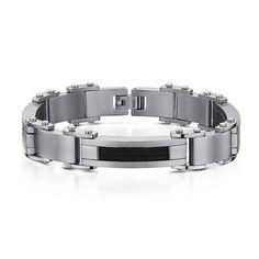 RADEON - pánsky exkluzívny platničkový náramok z TITÁNU Bangles, Bracelets, Jewelry, Sports, Fashion, Luxury, Hs Sports, Moda, Jewlery