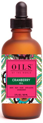 Oil - Cranberry Seed #Oil. www.oilsoftheworld.co. Hydrating, Moisturizing, Anti-aging, Nutrient Super Rich for skin and fantastic for Hair