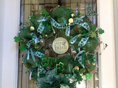 St. Patties Day wreath that I made :)