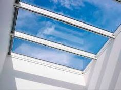 Foster + Partners and Velux devised a simple, affordable and sustainable modular skylight for a wider range of building types. Glass Roof Extension, Pergola, Solar, Roof Lantern, Foster Partners, Luz Natural, Transitional House, Glass Kitchen, Home Deco