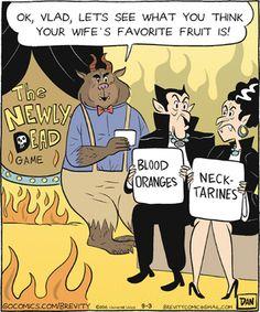 Brevity Comic Strip, September 03, 2016     on GoComics.com