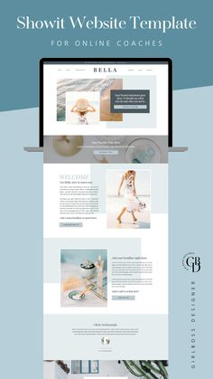 Website Layout, Web Layout, Layout Design, Website Templates, Website Designs, Template Site, Website Ideas, Coach Website, Page Design