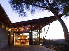 cool 12 Modern Contemporer Villa with Sloping Architecture Design https://wartaku.net/2017/03/25/unique-villa-sloping-architecture/