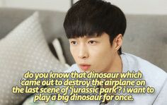 Yes lay,become a dinosaur,i believe in you. after all chen already did