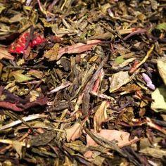 Princesse aux Mille Piquants Bio. Thé vert et blanc fraise, jasmin, piment. http://teaandty.com/the-vert-aromatise/79-princesse-aux-mille-piquants.html