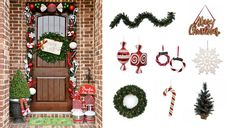 Holiday porch decorating ideas!