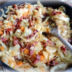 Mary Berry Cheese Scones, Leftover Potatoes, Baby Potatoes, Bacon Fried Cabbage, Cabbage And Noodles, Green Beans And Potatoes, Buttered Noodles, English Kitchens, Casserole Dishes