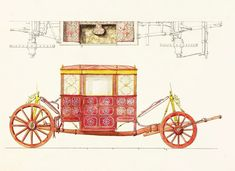 Velvet parade carriage of Franciszek Jan Leśnowolski, Starost of Bryansk by Gdańsk workshops, 1610-1634, Moscow Kremlin (watercolor by Fedor Solntsev, 1830s, Moscow Kremlin). The brass sheet is adorned with Roch coat of arms held by lions and initials F.L.S.B. (Franciszek Leśnowolski, Starosta Briański) of the owner. © Marcin Latka #17thcenturyvelvet #paradecarriage #historyofbryansk #historyofgdansk #artinpl #17thcenturycarriage #turkishvelvet #rochcoatofarms #historiccarriage… Moscow Kremlin, Coat Of Arms, 17th Century, Lions, Initials, Workshop, Velvet, Brass, Watercolor