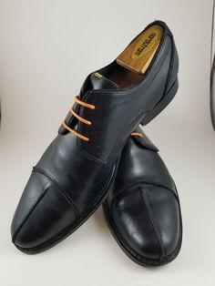 c0af55cb7 Brass Boot Leather Split Cap Toe Oxfords Unique Toe & Orange Laces Mens 10  M NR #fashion #clothing #shoes #accessories #mensshoes #dressshoes (ebay  link)