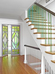 Find Design Inspiration For The Whole House. Stair SpindlesBanistersPainted  ...