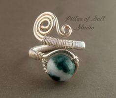 BLACK FRIDAY SPECIAL / Adjustable Ring / by PillarOfSaltStudio, $15.00
