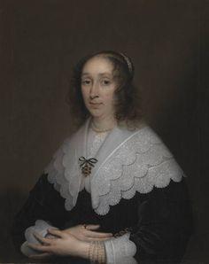 """Cornelia Veth"", Cornelius Johnson, 1644; TC N01321"