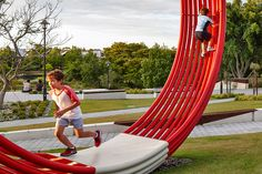 Australian Fine China by Peter Bennetts « Landscape Architecture Works Kids Play Spaces, Outdoor Play Spaces, Play Areas, Playground Design, Outdoor Playground, Children Playground, Urban Furniture, Street Furniture, Landscape Architecture