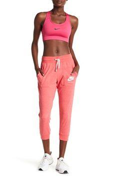 Image of Nike Vintage Gym Drawstring Capri Pants