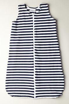 Sleeveless Stripe Sack
