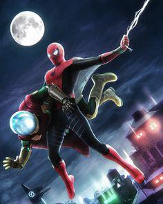 The Sinister Six, Spider Verse, Tom Holland, Deadpool, Spiderman, Marvel, Fan Art, Superhero, Guys