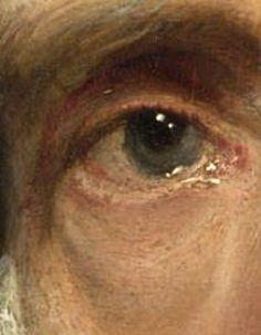 Portrait of Cornelis van der Geest (detail)
