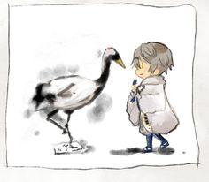 「鳥」 鶴丸国永