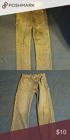 Boy's Ralph Lauren Polo distressed jeans size 10 Excellent condition. 5 pocket jeans carpenter- style Ralph Lauren Bottoms Shorts