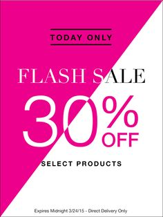 March 24th: Get 30% off select products in my Avon eStore! #AvonRep